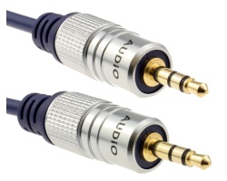 Cable Jack 3.5mm OFC stereo male - male 50cm